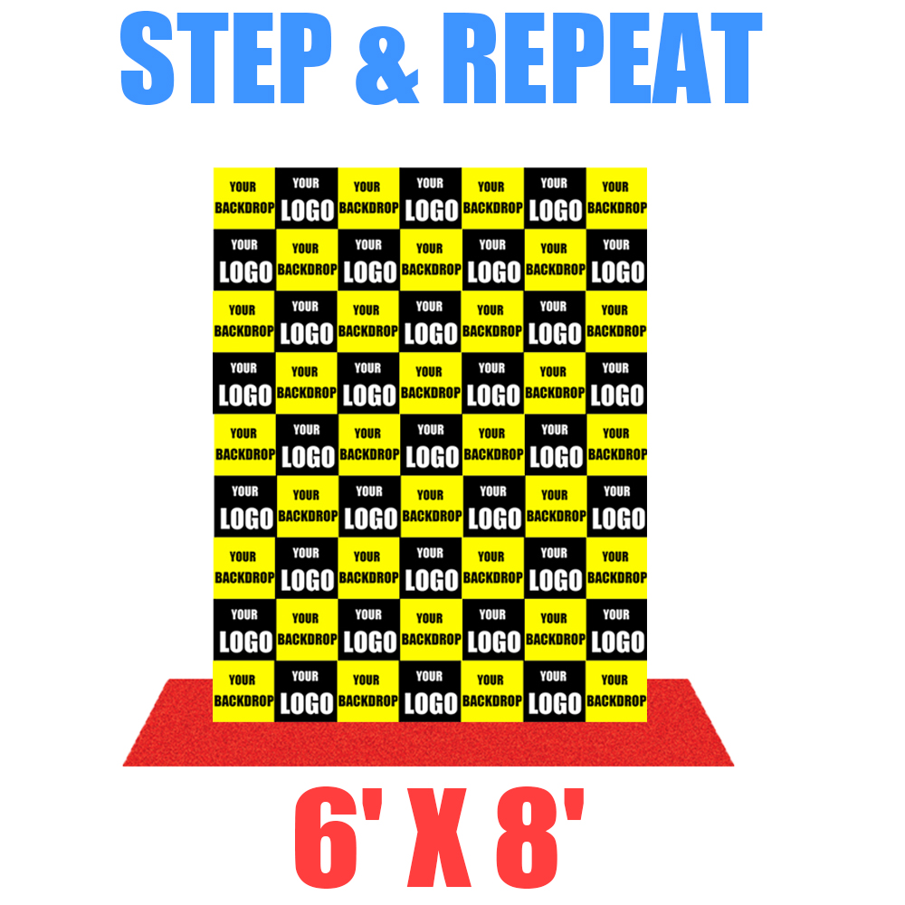 6x8 Step And Repeat Banner